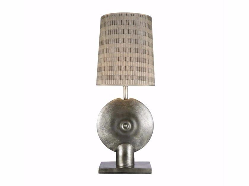 Die cast aluminium table lamp DISCA by Hamilton Conte Paris