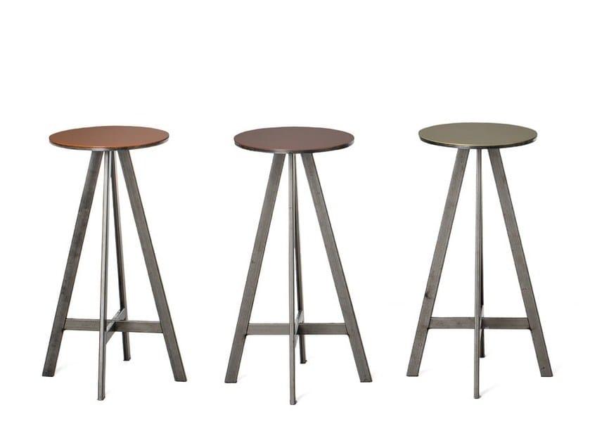 Disco sgabello by officine tamborrino design marco capeto