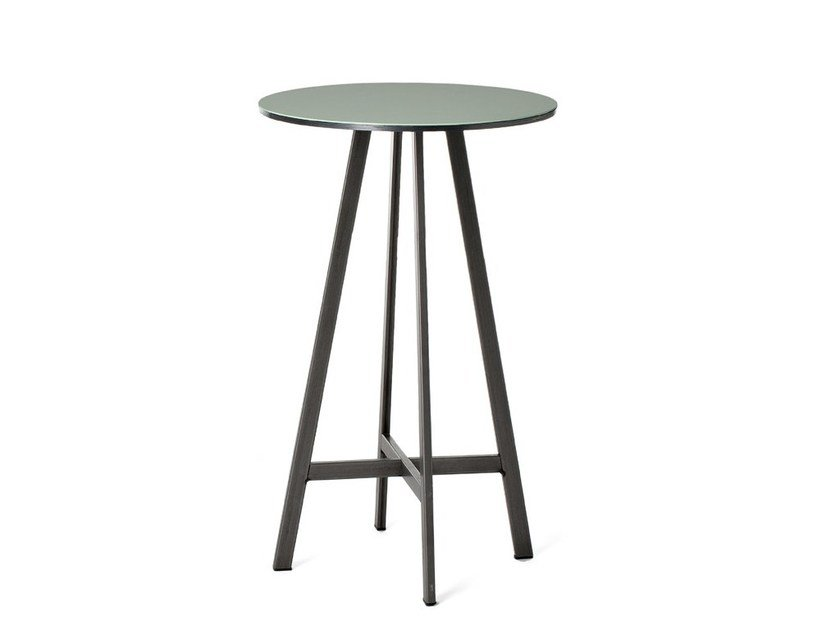 Round plate table DISCO | Table by Officine Tamborrino