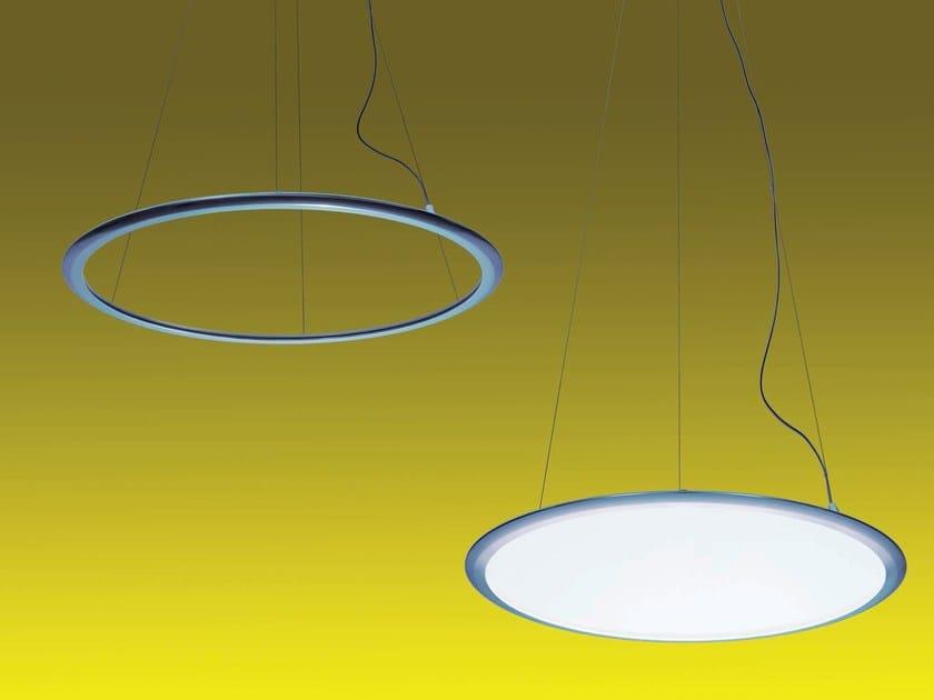 Lampada a sospensione a LED a luce diretta e indiretta in alluminio DISCOVERY | Lampada a sospensione by Artemide
