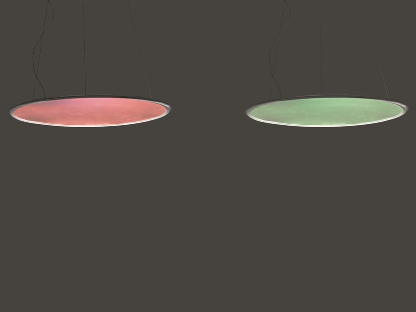 LED direct-indirect light RGB pendant lamp DISCOVERY | RGB pendant lamp by Artemide