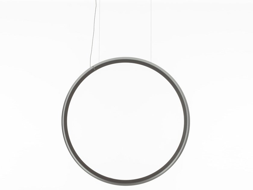 LED direct light technopolymer pendant lamp DISCOVERY VERTICAL | Pendant lamp by Artemide