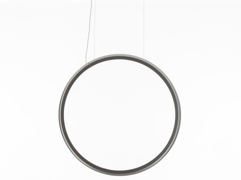 Luminária pendente LED en tecnopolímero com luz direta DISCOVERY VERTICAL | Luminária pendente by Artemide