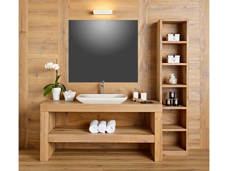 Wooden vanity unit DISEGNODILEGNO | Vanity unit by FIEMME 3000