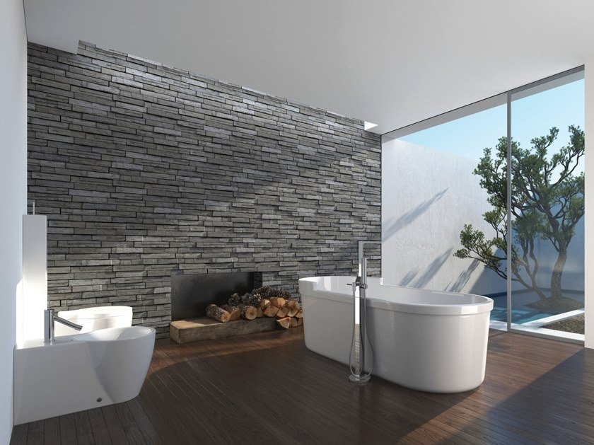 Indoor quarry wall tiles DISEGUAL by Terreal SanMarco