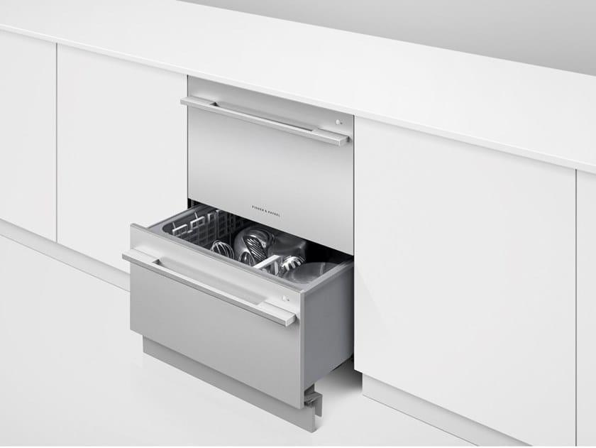 Double dishdrawer™ dishwasher Class A++ DISHDRAWER™ DD60DDFX9 by Fisher & Paykel