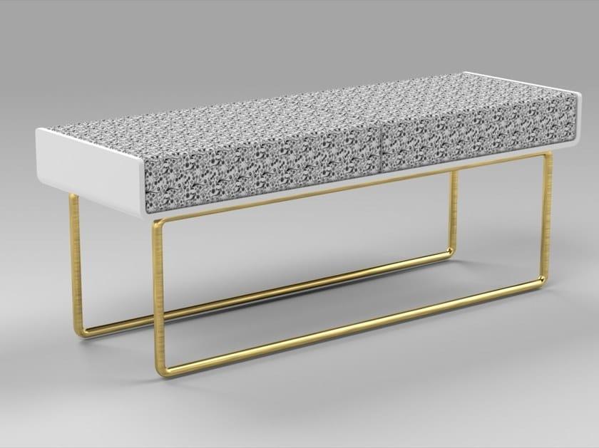 Panca Imbottita Design : Panca imbottita in tessuto distinct panca ama design