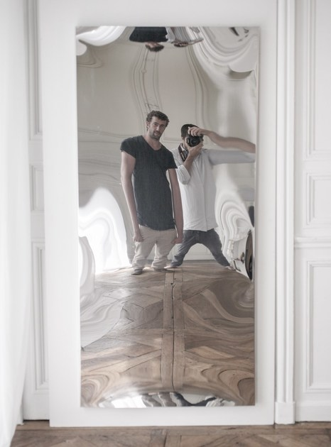 DISTORTING MIRROR | Specchio rettangolare
