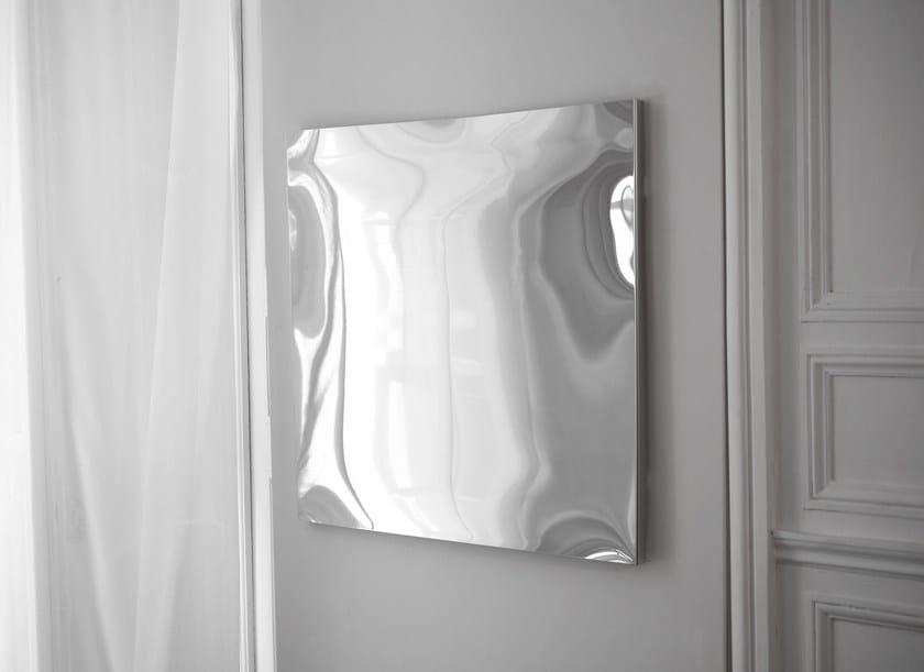 Distorting mirror DISTORTING MIRROR | Square mirror by VIDAME CREATION
