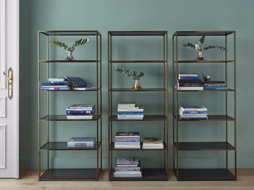 Open double-sided bookcase DITA by Ligne Roset