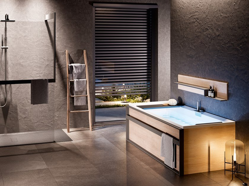 Rectangular bathtub DIV by NOVELLINI