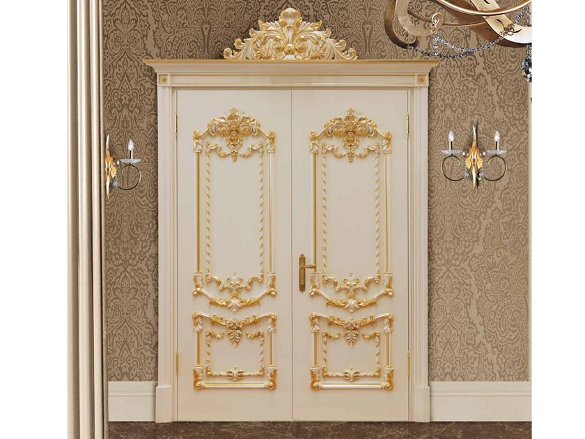 Hinged lacquered door DIVA by Arnaboldi Interiors