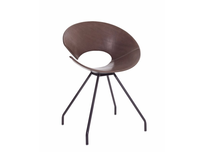 Technopolymer chair DIVA by Colico