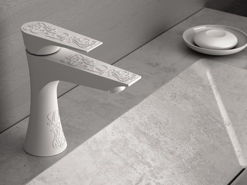 Single handle painted-finish washbasin mixer DIVA DEKORA SENSE | Washbasin mixer by Daniel Rubinetterie