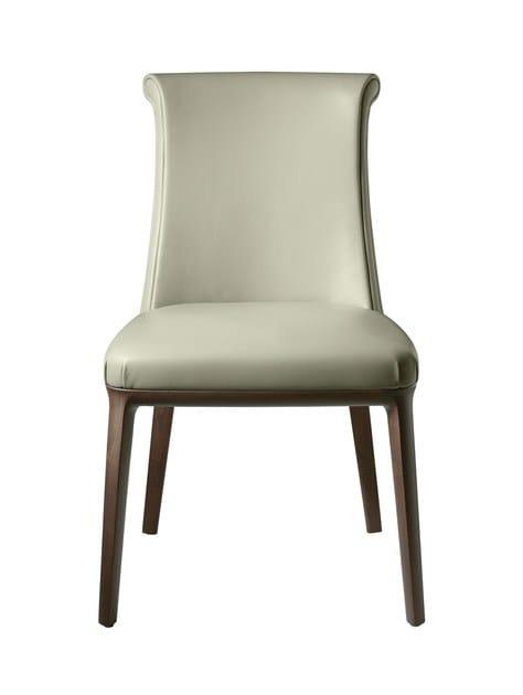 Leather chair DIVA by Poltrona Frau
