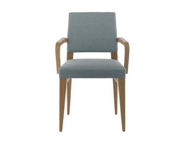 DIVA | Sedia con braccioli By Potocco design Alexander Lorenz