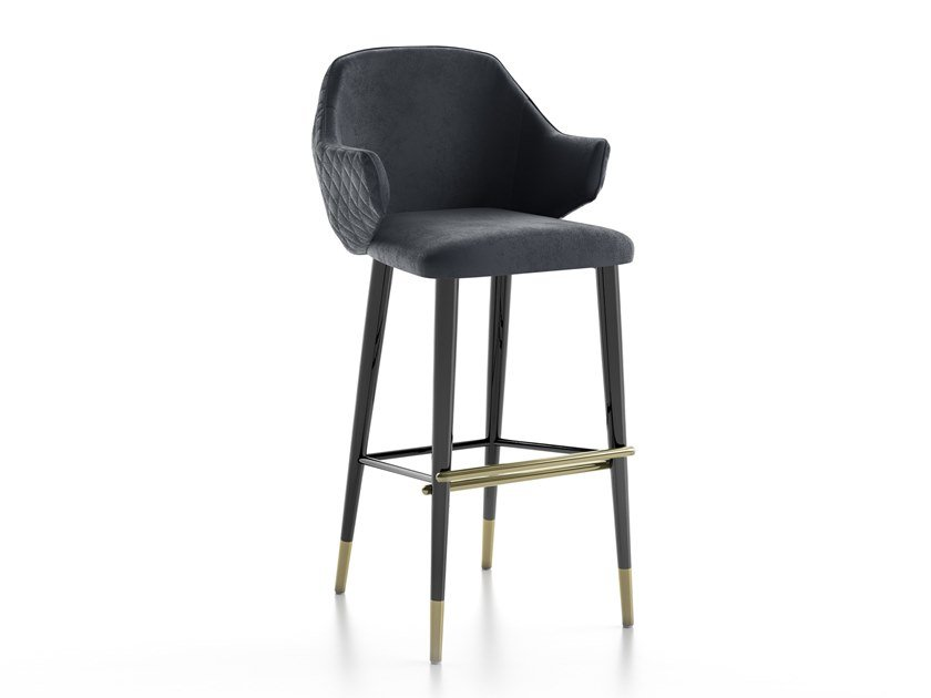 High stool with back DIVA | High stool by Capital Collection