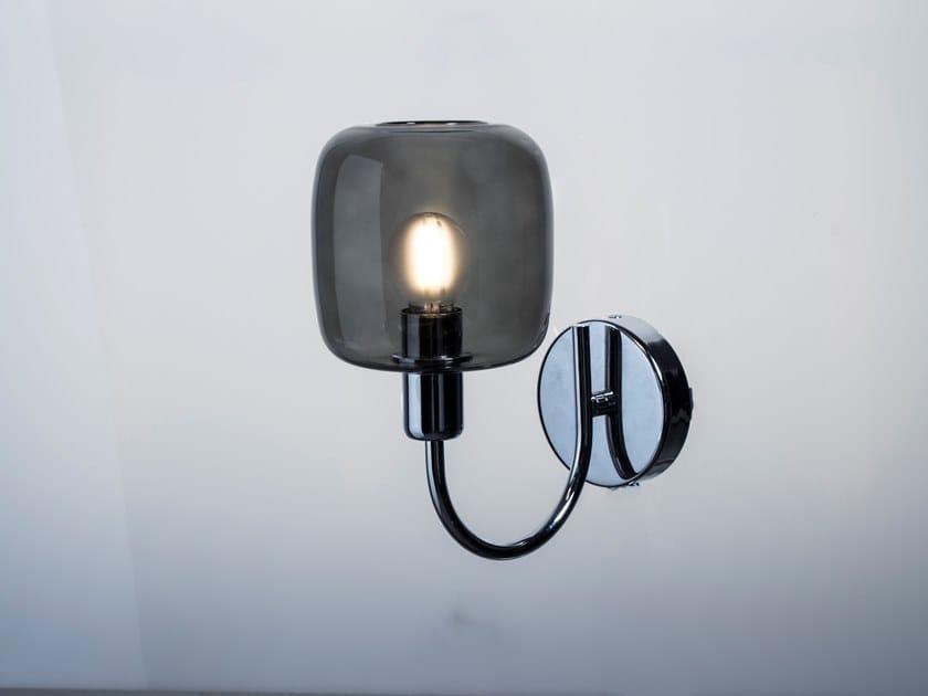 Borosilicato And Da Led In Design Parete Vetro DivaLampada Sp Light A 1clFKJ