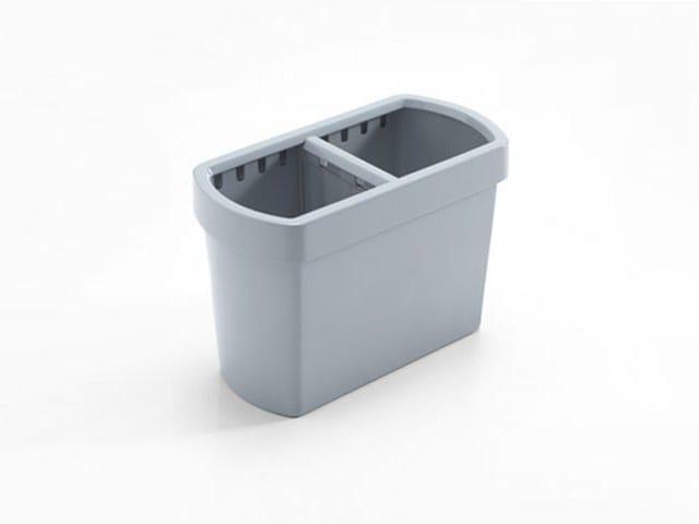 Technopolymer waste paper bin DIVIDO by Caimi Brevetti