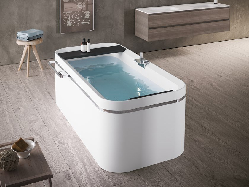 Rectangular bathtub DIVINA F by NOVELLINI