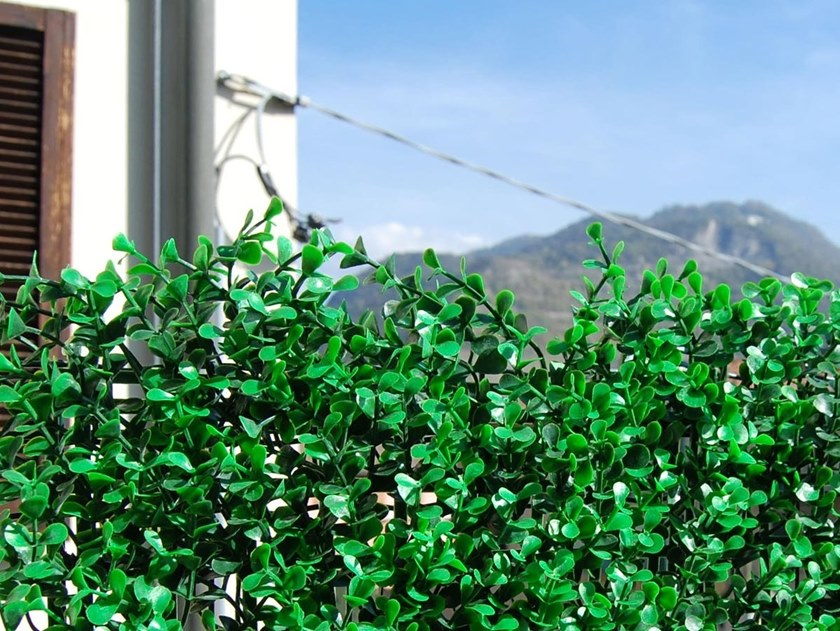 Artificial hedge DIVY 3D PANEL BUXUS INTENSE by TENAX
