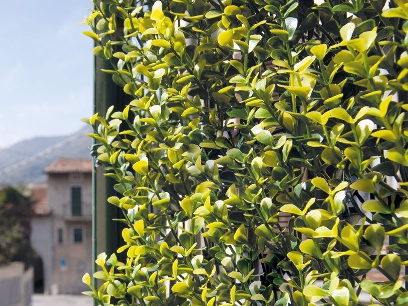Artificial hedge DIVY 3D PANEL BUXUS by TENAX