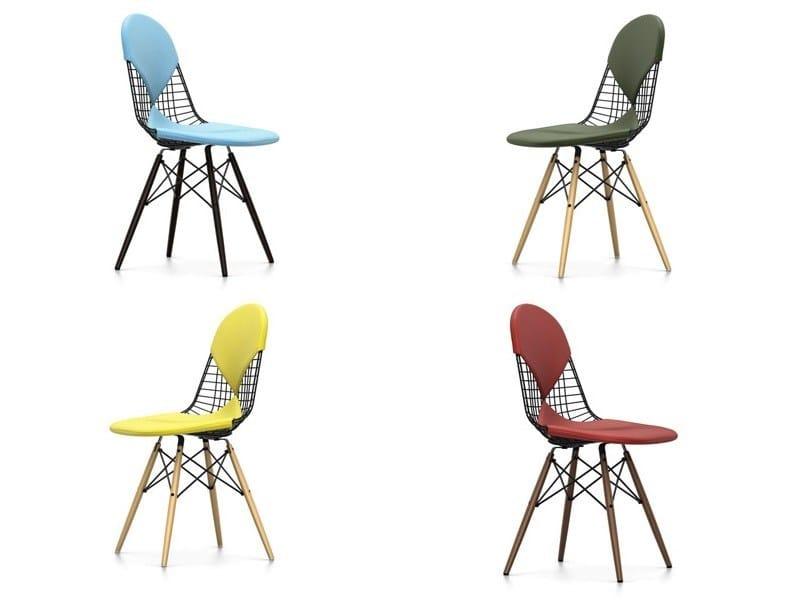 Sedia in acciaio dkw 2 collezione wire chair by vitra for Sedia design vitra