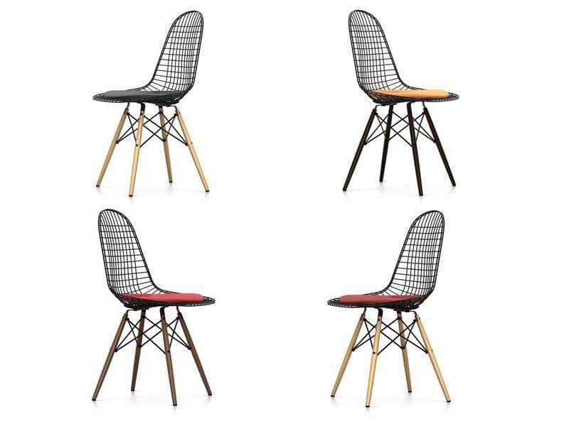 Stuhl aus Stahl DKW-5 By Vitra Design Charles Eames