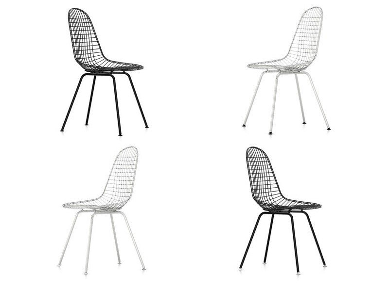 Steel chair DKX by Vitra