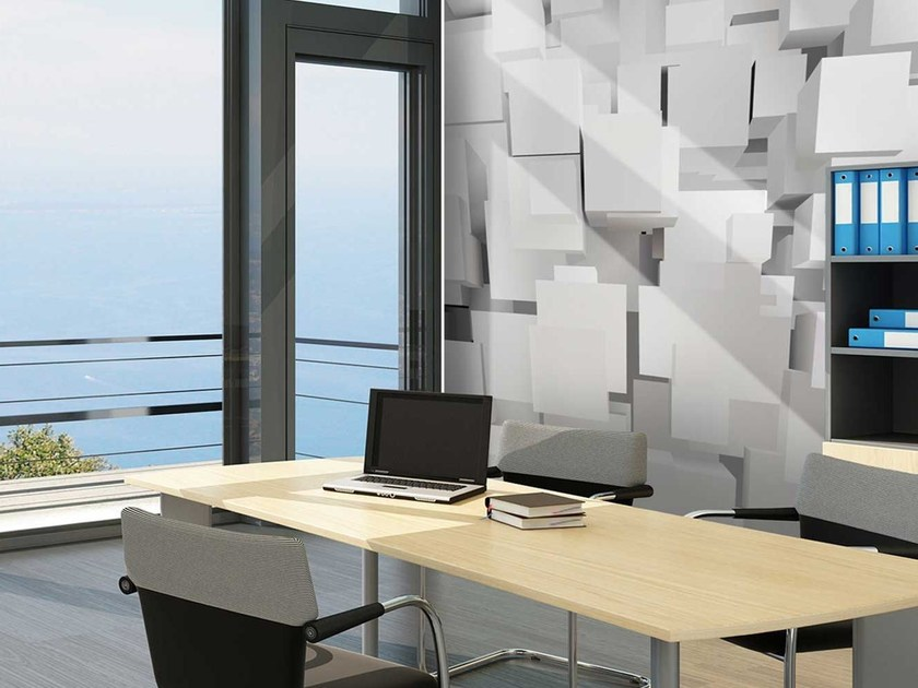 Motif washable non-woven paper wallpaper DL0023 by LGD01