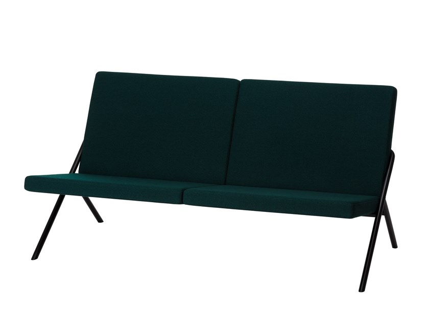 Fabric small sofa DL2 | Small sofa by LOEHR