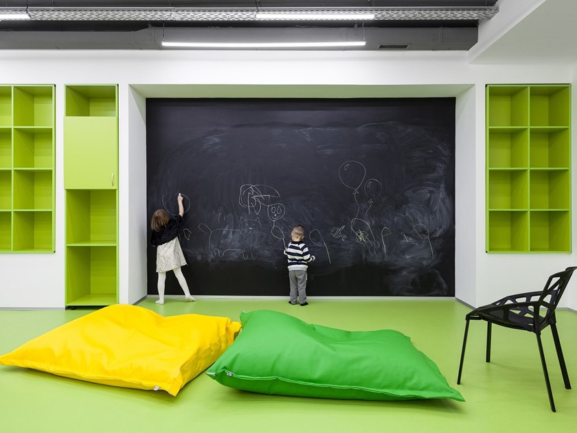 Antibacterial linoleum flooring GERFLOR-DLW LINOLEUM by gerflor
