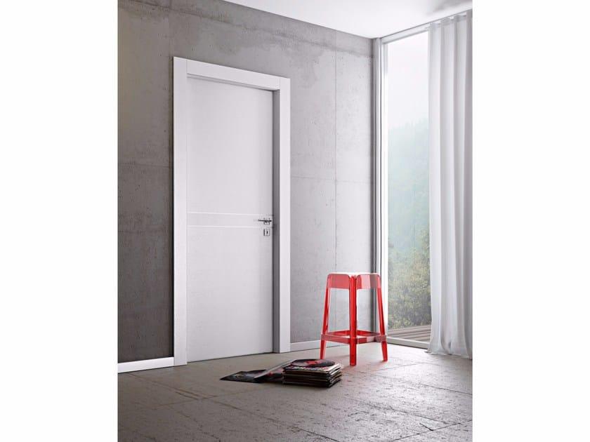 Porta a battente in legno DMT | Porta a battente by Pail Serramenti
