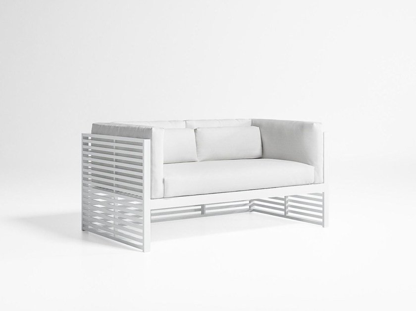 2 Seater Fabric Sofa With Removable Cover Dna By Gandia Blasco