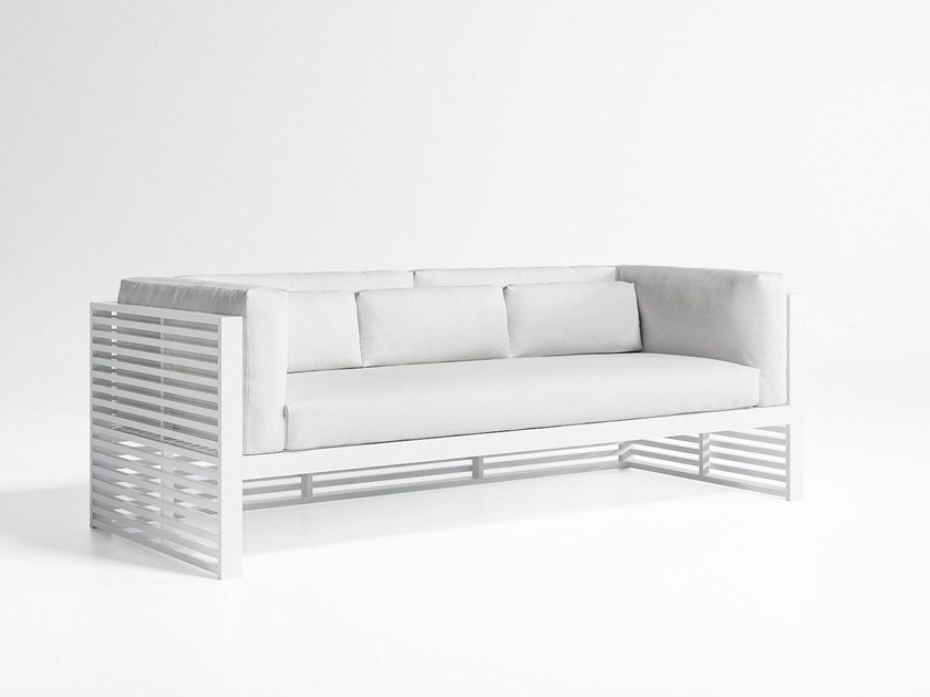 3 seater fabric sofa with removable cover DNA   3 seater sofa by GANDIA BLASCO