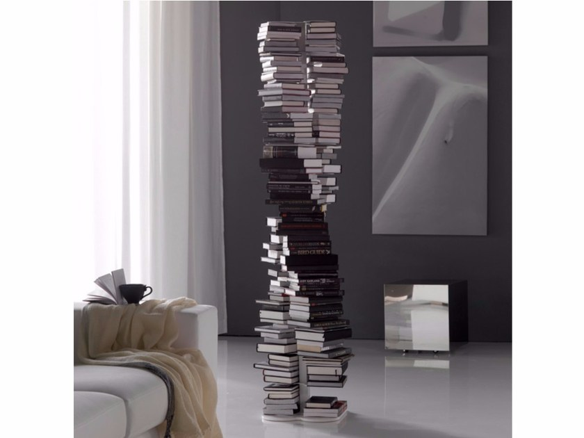 Steel bookcase DNA by Cattelan Italia