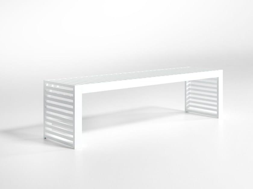 Aluminium garden bench DNA   Garden bench by GANDIA BLASCO