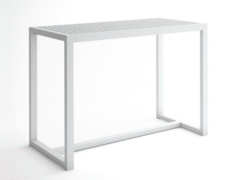 Alluminio Da Rettangolare Giardino Gandia Alto Blasco DnaTavolo In yv76mIgYbf