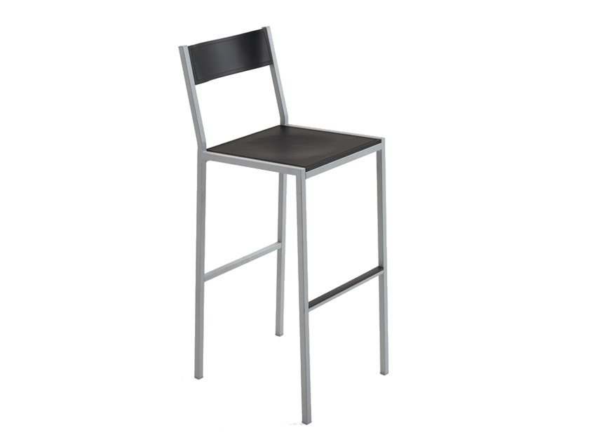 High stool with footrest DO | Stool by Inday
