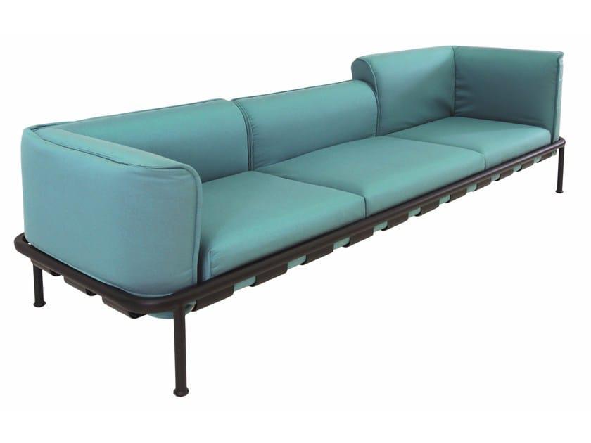 Modular 3 seater sofa DOCK   3 seater sofa by emu