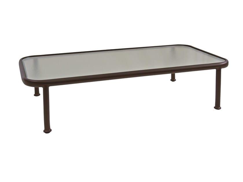 Low rectangular coffee table DOCK by emu