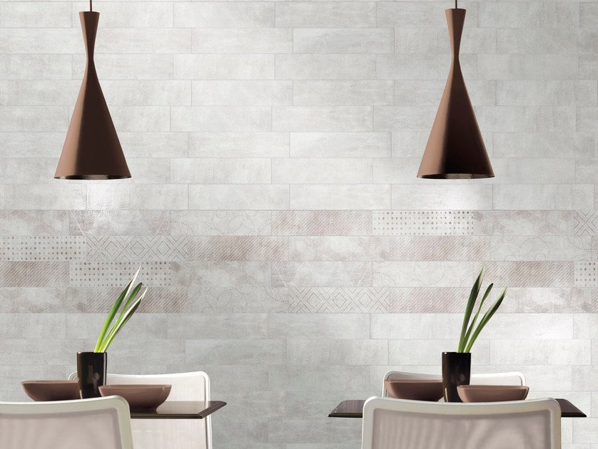 Glazed stoneware wall tiles DOCKLANDS | Wall tiles by CIR