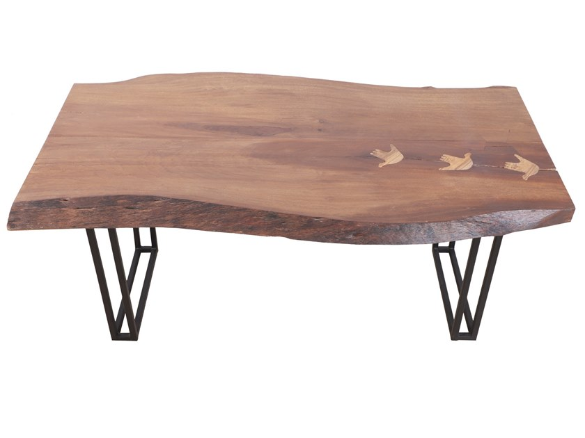 Wooden table DOGAL by ALANKARAM
