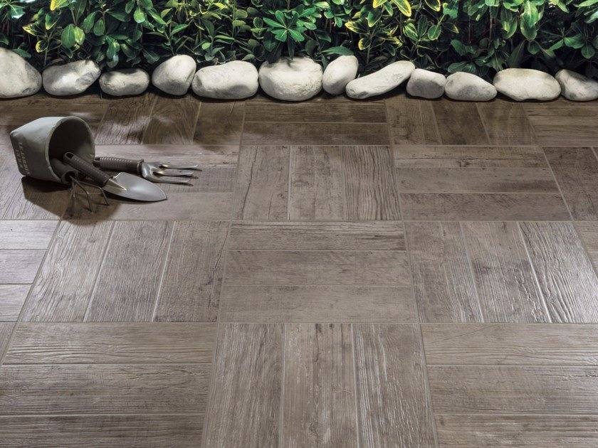 Porcelain stoneware flooring with wood effect DOGHE by Ceramica Rondine