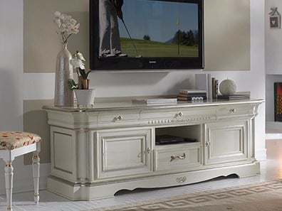 Low wooden TV cabinet DOGI | TV cabinet by Arvestyle