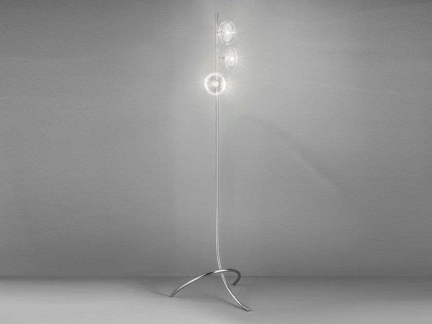 Metal floor lamp DOLCE D 50 by Metal Lux