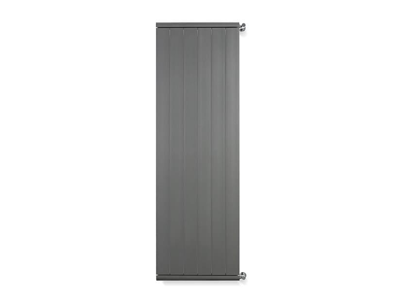 Wall-mounted aluminium radiator DOLCE by RIDEA