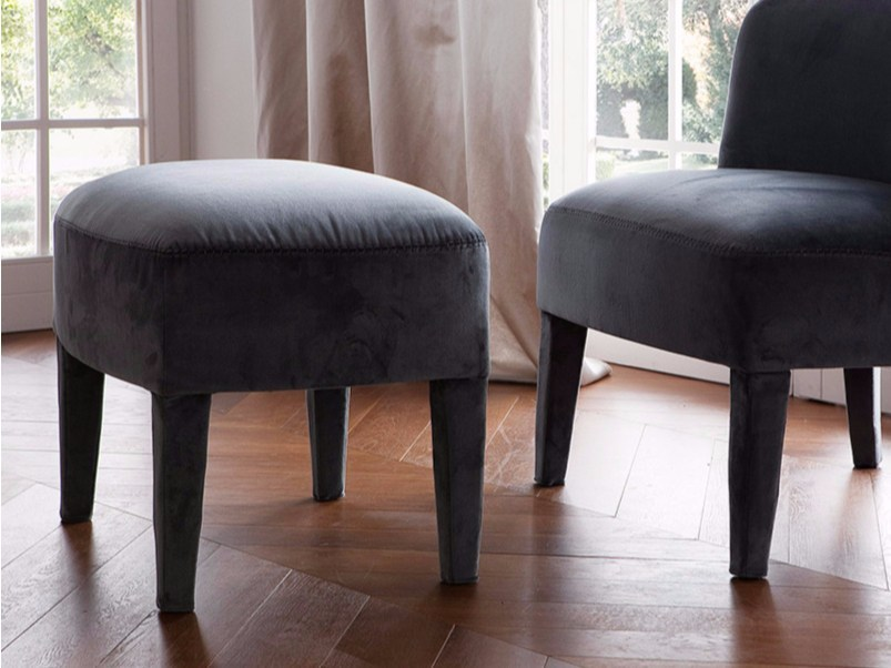 Rectangular fabric pouf DOLCE VITA | Pouf by Chaarme