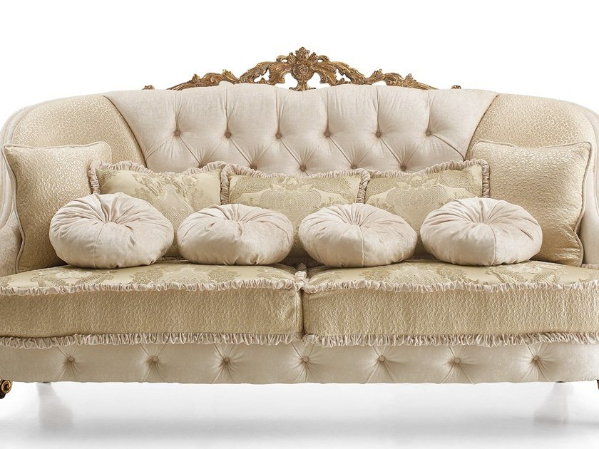 Fabric sofa cushion DOLCEVITA | Cushion by A.R. Arredamenti