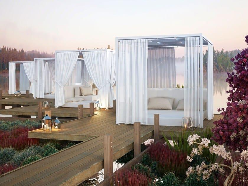 Canopy garden bed DOLCEVITA by Giulio Barbieri